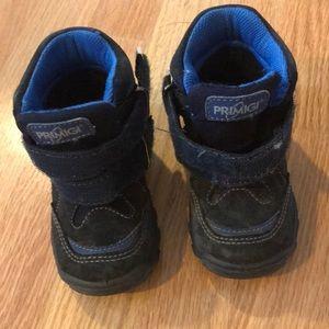 Primigi navy waterproof boots